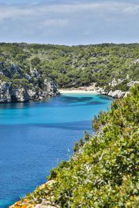 Spain, Menorca. Cliffside view. by Hollice Looney