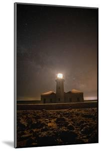 Spain, Menorca. Milky Way over the lighthouse. by Hollice Looney