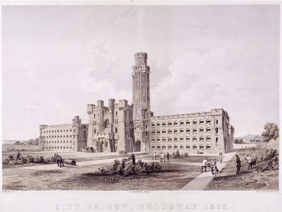 Holloway Prison, Islington, London, 1852--Giclee Print