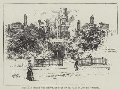 Holloway Prison, the Temporary Home of Dr Jameson and His Officers--Giclee Print