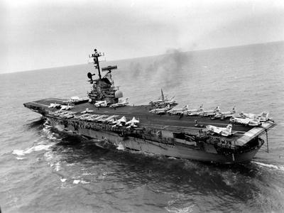 Vietnam War USS Aircraft Carrier