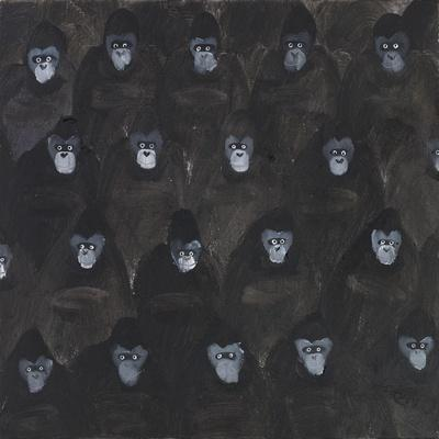 Study for Gorilla Gig, 2016