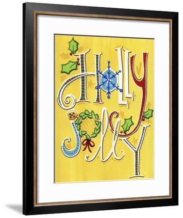Holly Jolly-Jennifer Nilsson-Framed Giclee Print
