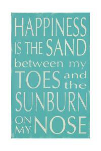 Happiness Is the Sand by Holly Stadler