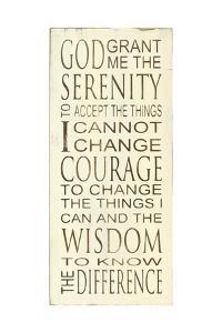 Serenity Prayer by Holly Stadler