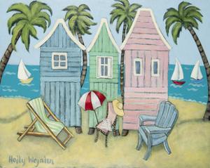 At the Beach II by Holly Wojahn