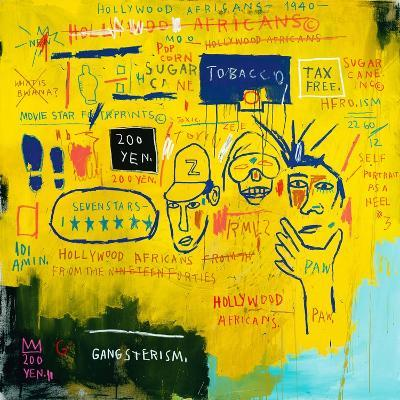 Hollywood Africans, 1983-Jean-Michel Basquiat-Giclee Print