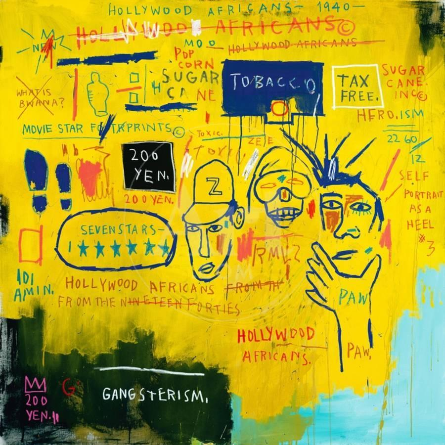 Hollywood Africans, 1983 Giclee Print by Jean-Michel Basquiat | the ...