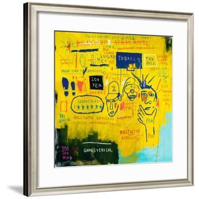 Hollywood Africans, 1983-Jean-Michel Basquiat-Framed Giclee Print