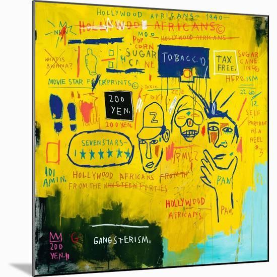 Hollywood Africans, 1983-Jean-Michel Basquiat-Mounted Giclee Print