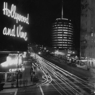 Hollywood and Vine--Photographic Print