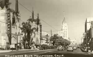 Hollywood Boulevard, Hollywood, Los Angeles, California