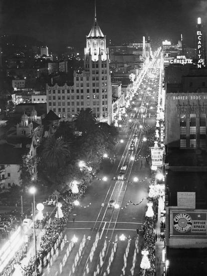 Hollywood Boulevard-Philip Gendreau-Photographic Print