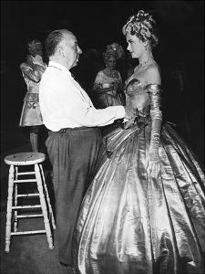 Alfred Hitchcock, Grace Kelly 'To Catch A Thief' 1955 by Hollywood Historic Photos
