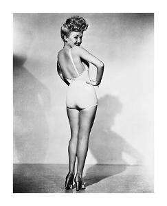 Betty Grable 1944 WWll Pinup Girl by Hollywood Historic Photos
