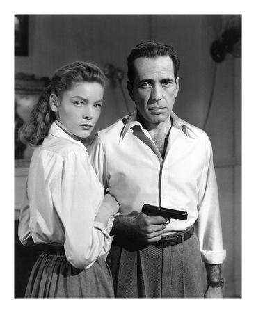 Lauren Bacall and Humphrey Bogart in 'Key Largo' 1948