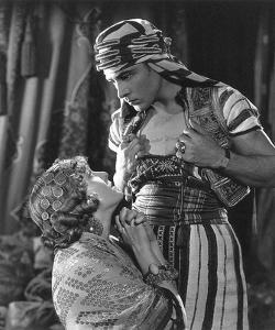 Rudolph Valentino 'The Son of the Sheik' with Vilma Banky by Hollywood Historic Photos