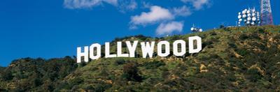 Hollywood sign Hollwood CA USA
