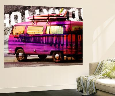 Hollywood Van-GI ArtLab-Wall Mural