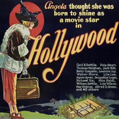 Hollywood--Art Print