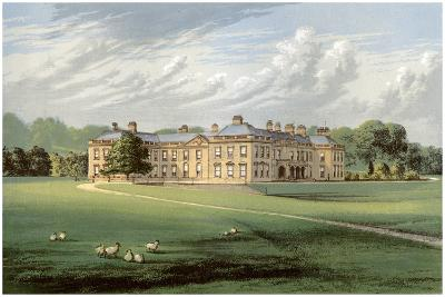 Holme Lacy, Herefordshire, Home of Baronet Stanhope, C1880-Benjamin Fawcett-Giclee Print