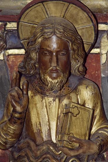 Holy Apostle, Wooden Relief from the Upper Chapel of the Holy Chapel, Paris, Ile-De-France, France--Giclee Print