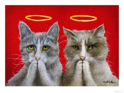Holy Cats-Will Bullas-Premium Giclee Print