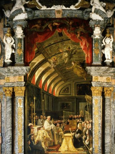 Holy Communion of Charles II, 1661-1700, King of Spain-Claudio Coello-Photographic Print