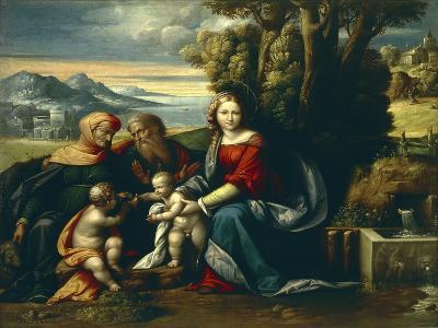 Holy Conversation-Benvenuto Garofalo-Giclee Print