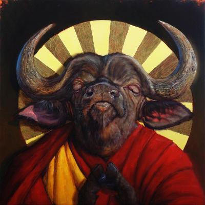 Holy Cow II-Lucia Heffernan-Art Print