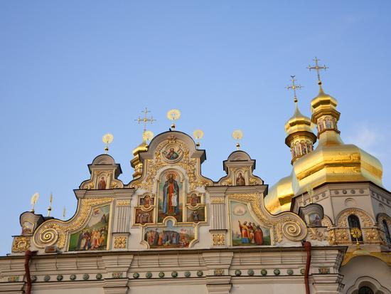 Holy Dormition, Kiev-Pechersk Lavra, UNESCO World Heritage Site, Kiev, Ukraine, Europe-Graham Lawrence-Photographic Print