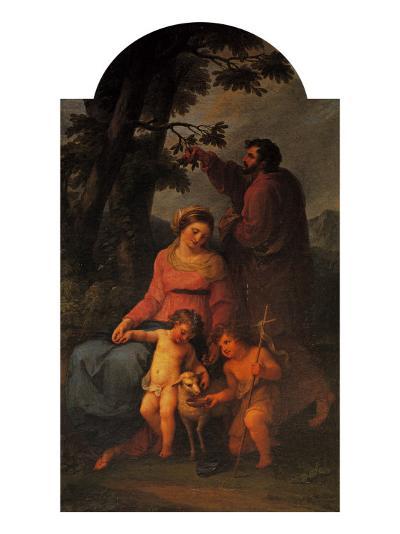 Holy Family-Michelangelo Buonarroti-Giclee Print
