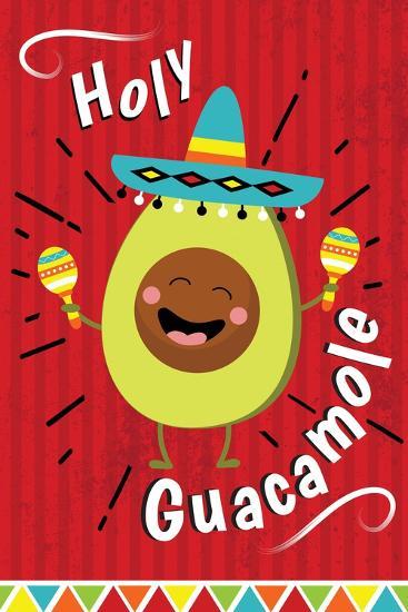 Holy Guacamole-ND Art-Art Print
