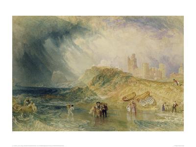 Holy Island, Northumberland, 1820-J^ M^ W^ Turner-Giclee Print