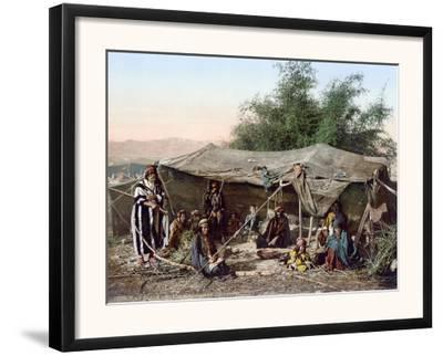 Holy Land: Bedouin Camp--Framed Photographic Print