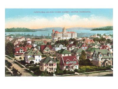 Holy Names Academy, Seattle, Washington--Art Print