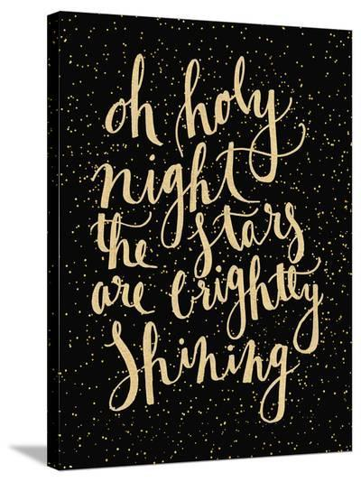 Holy Night-Jetty Printables-Stretched Canvas Print