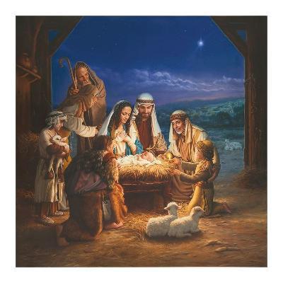 Holy Night-Mark Missman-Art Print