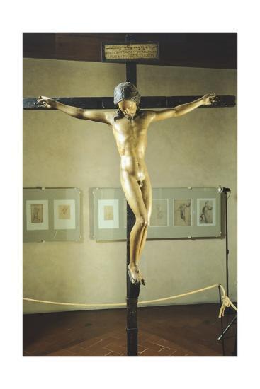 Holy Spirit Crucifix--Giclee Print