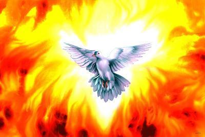 Holy Spirit Fire-Spencer Williams-Giclee Print