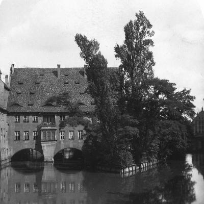 Holy Spirit Hospital, Nuremberg, Bavaria, Germany, C1900s-Wurthle & Sons-Photographic Print