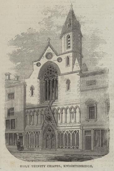 Holy Trinity Chapel, Knightsbridge--Giclee Print