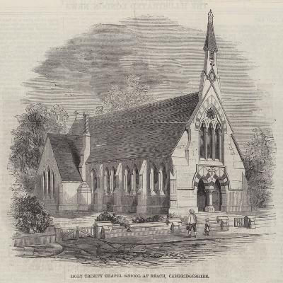 Holy Trinity Chapel School at Reach, Cambridgeshire--Giclee Print