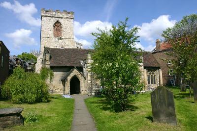 Holy Trinity Church, York, North Yorkshire-Peter Thompson-Photographic Print