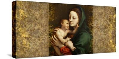 Holy Virgin (Italian school)-Simon Roux-Stretched Canvas Print