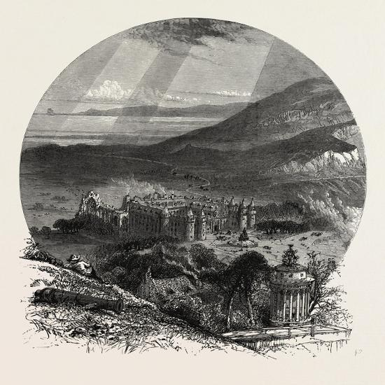 Holyrood Palace, Edinburgh and the South Lowlands, Scotland,19th Century--Giclee Print