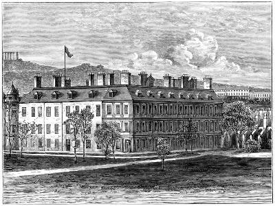 Holyrood Palace from the South-East, Edinburgh, 1900--Giclee Print