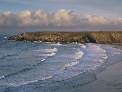 Holywell Bay, Near Newquay, Cornwall, England, United Kingdom-John Miller-Photographic Print