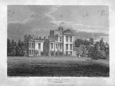 Holywell House, Hertfordshire, 1806-J Storer-Giclee Print