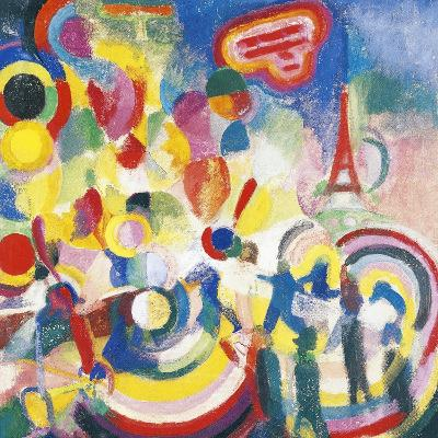Homage to Bleriot, 1914-Robert Delaunay-Giclee Print